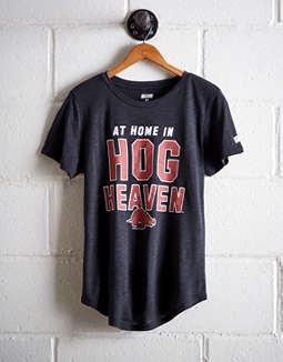 Tailgate Women's Arkansas Hog Heaven T-Shirt