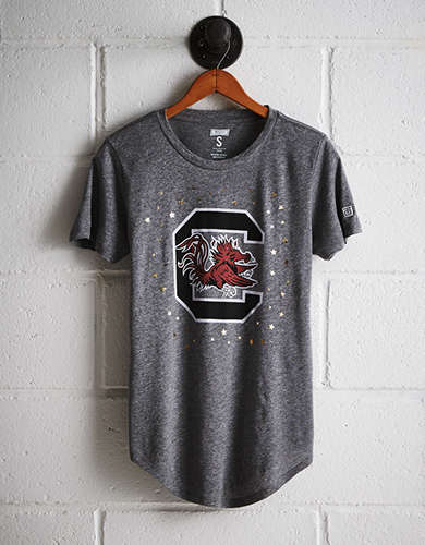 Tailgate Women's South Carolina Foil Star T-Shirt - Free Returns
