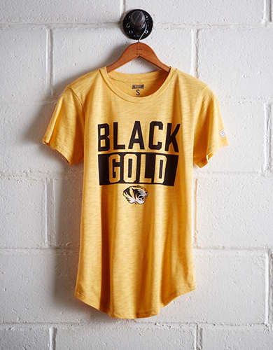 Tailgate Women's Missouri Black & Gold T-Shirt - Free returns