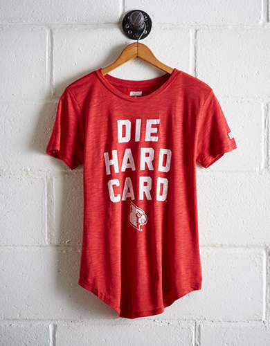 Tailgate Women's Louisville Die Hard Card T-Shirt -