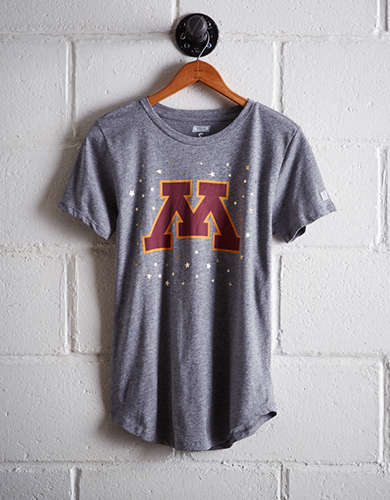 Tailgate Women's Minnesota Foil Star T-Shirt - Free returns