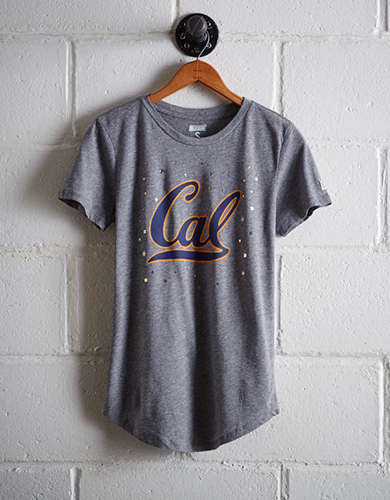 Tailgate Women's California Foil Star T-Shirt - Free Returns