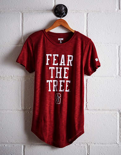 Tailgate Women's Stanford Fear The Tree T-Shirt - Free Returns