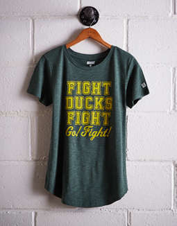 Tailgate Women's Oregon Fight Ducks T-Shirt