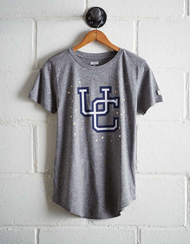 Tailgate Women's Connecticut Foil Star T-Shirt - Free Returns