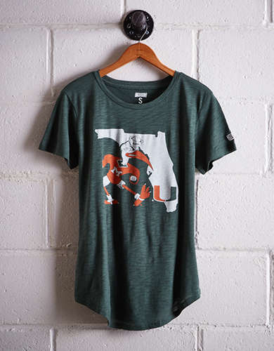 Tailgate Women's Miami Mascot T-Shirt - Buy One Get One 50% Off