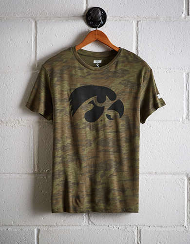 Tailgate Women's Iowa Camo Boyfriend Tee - Free returns