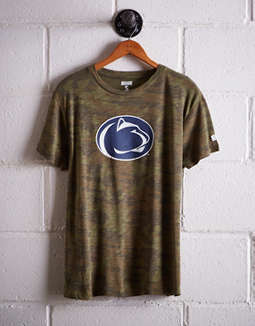efaacf8d76248 placeholder image Tailgate Women's Penn State Camo Boyfriend Tee