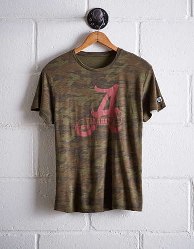 Tailgate Women's Alabama Camo Boyfriend Tee - Free shipping & returns with purchase of NBA item