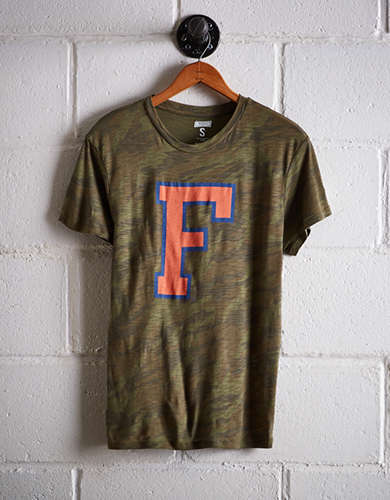 Tailgate Women's Florida Camo Boyfriend Tee - Free returns