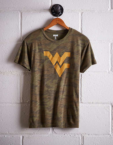 Tailgate Women's WVU Camo Boyfriend Tee - Buy One Get One 50% Off