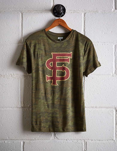 Tailgate Women's Florida State Camo Boyfriend Tee - Buy One Get One 50% Off