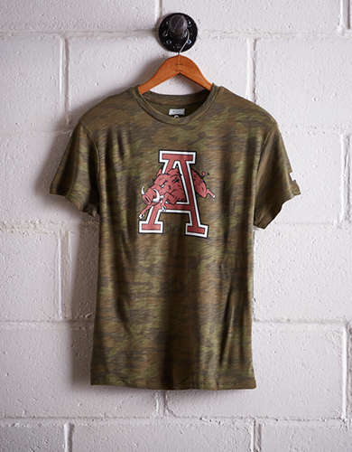 Tailgate Women's Arkansas Camo Boyfriend Tee - Free Returns