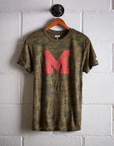 Tailgate Women's Maryland Camo Boyfriend Tee - Buy One Get One 50% Off