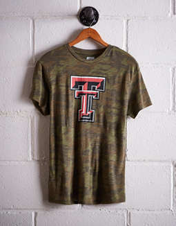 Tailgate Women's Texas Tech Camo Boyfriend Tee