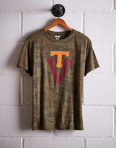 Tailgate Women's Virginia Tech Camo Boyfriend Tee - Buy One Get One 50% Off