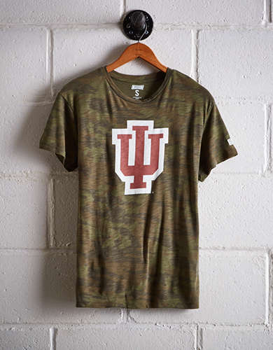 Tailgate Women's Indiana Camo Boyfriend Tee - Buy One Get One 50% Off