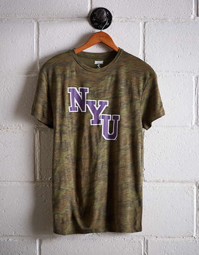 Tailgate Women's NYU Camo Boyfriend Tee - Buy One Get One 50% Off