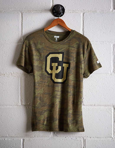 Tailgate Women's Colorado Camo Boyfriend Tee - Free shipping & returns with purchase of NBA item