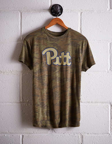 Tailgate Women's Pittsburgh Camo Boyfriend Tee - Free Shipping + Free Returns
