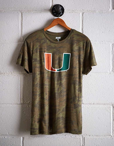Tailgate Women's Miami Camo Boyfriend Tee - Buy One Get One 50% Off