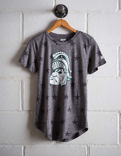 Tailgate Women's Michigan State Star T-Shirt - Buy One Get One 50% Off