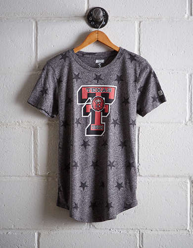 Tailgate Women's Texas Tech Star T-Shirt - Free Returns