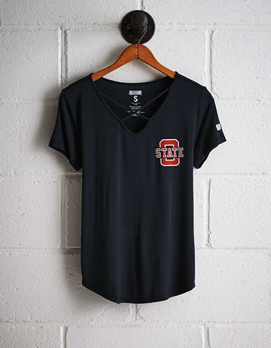 Tailgate Women's Oklahoma State Cage Front Tee - Buy One Get One 50% Off