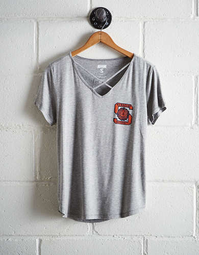 Tailgate Women's Syracuse Cage Front Tee - Buy One Get One 50% Off