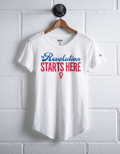 Tailgate Women's Revolution Starts Here T-Shirt - Free returns