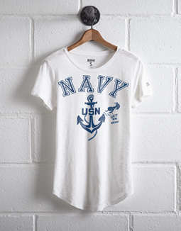 Tailgate Women's Navy T Shirt by American Eagle Outfitters