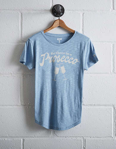 Tailgate Women's Prosecco T-Shirt - Free returns