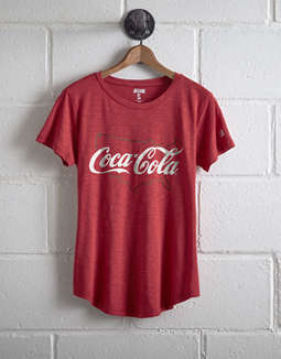 Tailgate Women's Coca Cola T Shirt by American Eagle Outfitters