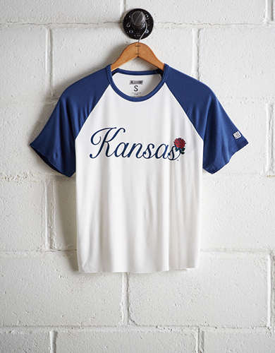 ecfbc80b093d Tailgate Women s Kansas Cut-Off Baseball Tee - Free Returns