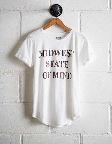 Tailgate Women's Midwest State of Mind T-Shirt - Buy One Get One 50% Off