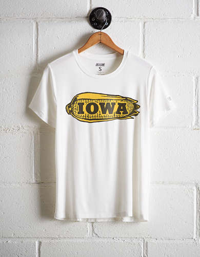 Tailgate Women's Iowa Boyfriend Tee - Free Returns