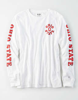 Tailgate Women's Ohio State Buckeyes Long Sleeve T-Shirt
