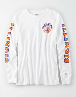 Tailgate Women's Illinois Illini Long Sleeve T-Shirt