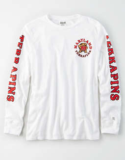 Tailgate Women's Maryland Terrapins Long Sleeve T-Shirt
