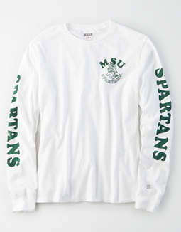 Tailgate Women's MSU Spartans Long Sleeve T-Shirt