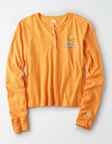 Tailgate Women's Tennessee Volunteers Cropped Henley