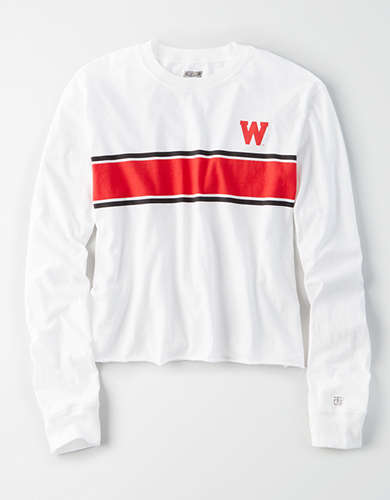 Tailgate Women's Wisconsin Badgers Long Sleeve T-Shirt