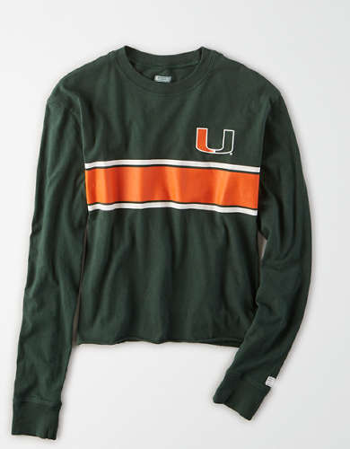 Tailgate Women's Miami Hurricanes Long Sleeve T-Shirt
