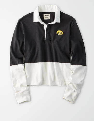 Tailgate Women's Iowa Hawkeyes Rugby Shirt