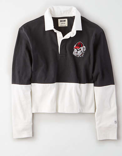 Tailgate Women's Georgia Bulldogs Rugby Shirt
