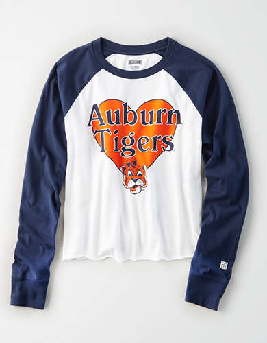 Tailgate Women's Auburn Tigers Baseball Shirt