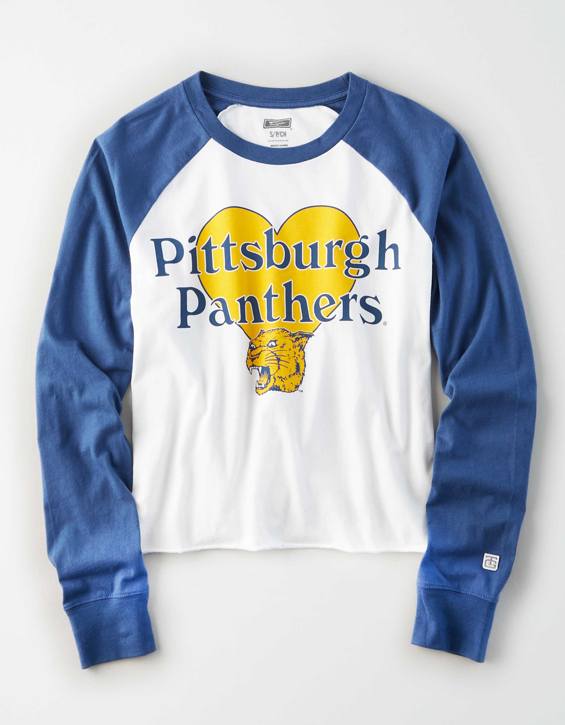 Tailgate Women's Pitt Panthers Baseball Shirt