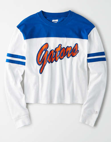 Tailgate Women's Florida Gators Cropped T-Shirt