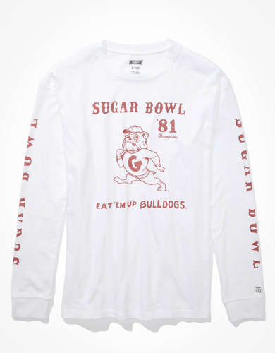 Tailgate Women's Georgia Oversized Long-Sleeve T-Shirt
