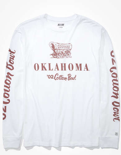 Tailgate Women's Oklahoma Oversized Long-Sleeve T-Shirt